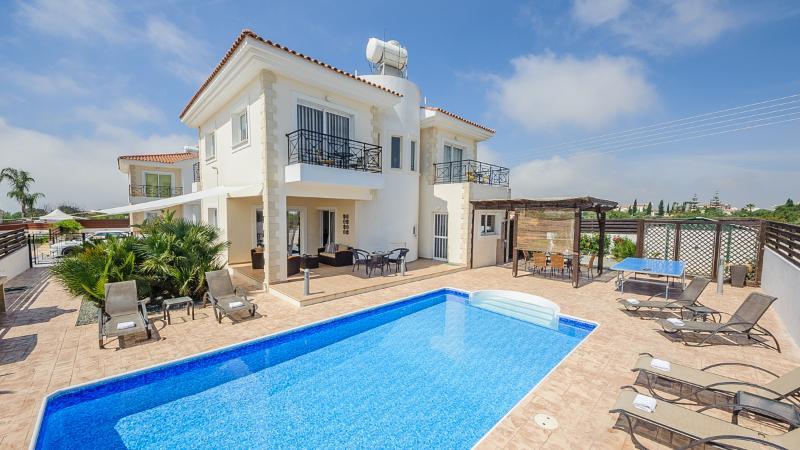 Oceanview Villa 034 - 4 bedroom villa in Ayia Napa - Image 1 - Ayia Napa - rentals