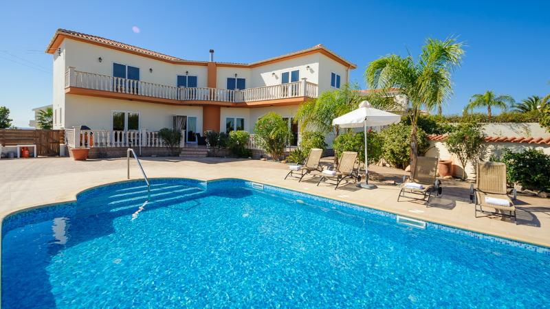 Oceanview Villa 027 - Grand & Spacious 5 bed - Image 1 - Ayia Napa - rentals