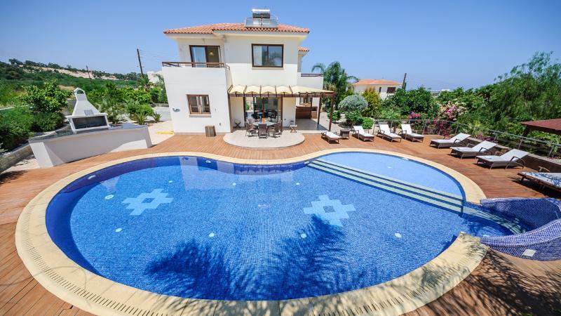 Oceanview Villa 031 - with large overflow pool - Image 1 - Protaras - rentals