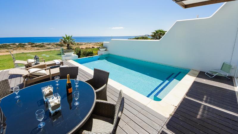 Oceanview Villa 063 - 5 bed sea front property - Image 1 - Protaras - rentals