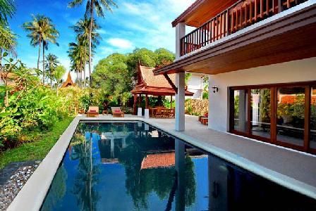 High Quality Vacation Retreat with Pool - Short Walk to Beach - Baan Leelavadee - Image 1 - Koh Samui - rentals