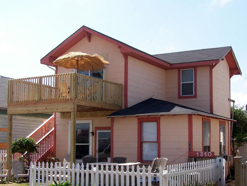 2nd House Included in Price! - 2 Beach Houses, Ocean Views, Tropical Patio! - Galveston - rentals