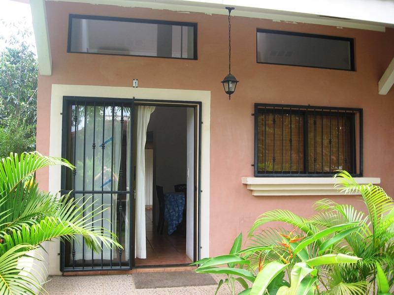 Valle Escondido, front entrance - Valle Escondido, fun loft style condo close to the beach - Playas del Coco - rentals