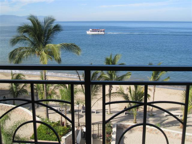 BEACH AND OCEAN VIEWS IN ALL ROOMS - Tower One - Portion of 270 Degree Panoramas - Molino de Agua(In Town)- Entire 4th Floor on Beach - Puerto Vallarta - rentals