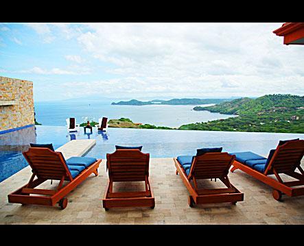 Patio View - Los Suenos - Playa Hermosa - rentals