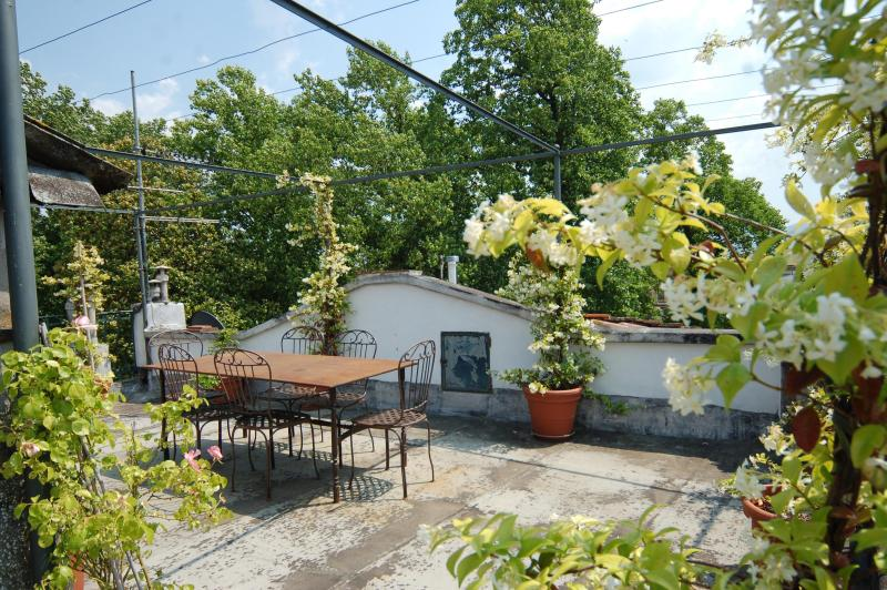 CasaValeria, the terrace - Elegant 3 Bedrooms with RoofTop Terrace - Lucca - rentals