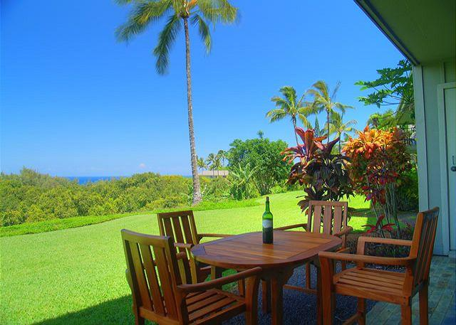 Alii Kai 11B: Scenic ocean and mountain views, lovely inside - Image 1 - Princeville - rentals