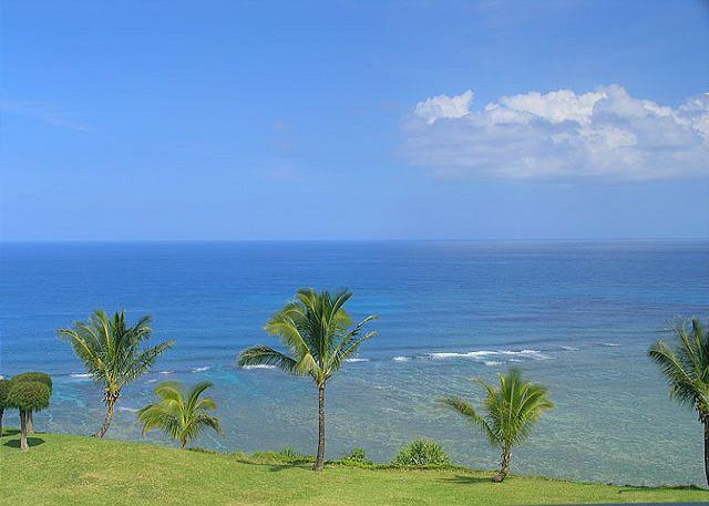 Sealodge F9: Ocean front views from the only top floor condo in the building! - Image 1 - Princeville - rentals