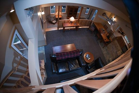 Loft view, open and spacious with many seating areas throughout the house - Crystal Rainier Retreat Ski Crystal Mountain - Greenwater - rentals