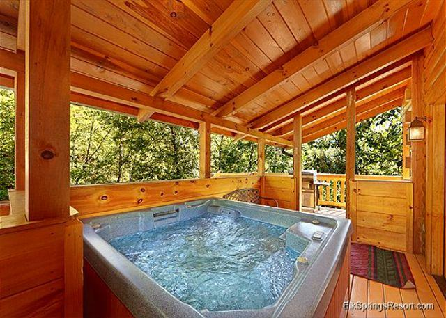 Secluded Luxury 3 Bedroom Just MInutes from downtown Gatlinburg - Image 1 - Sevierville - rentals