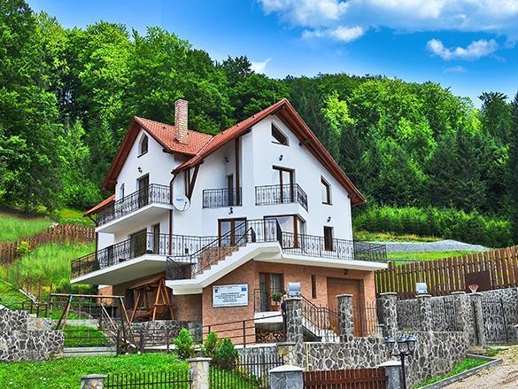 Villa Radu in summer - Charming Holiday Home in a Private Mountain Resort - Brasov - rentals