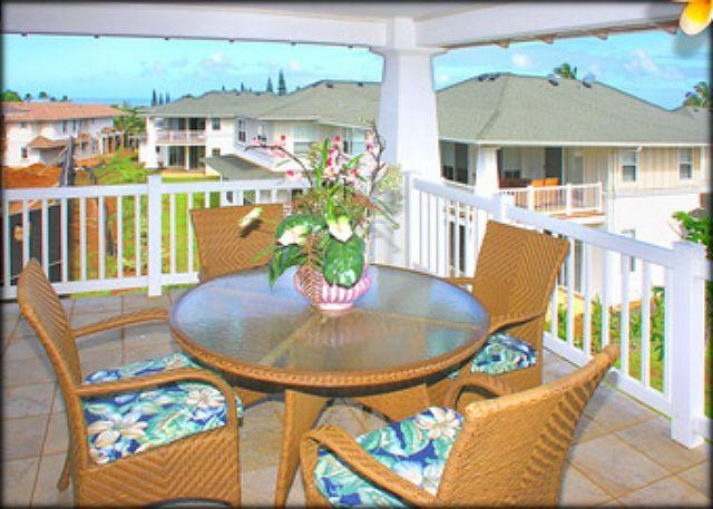 Pllantation 1322:  Elegant 3br with a/c, pool + fitness center - Image 1 - Princeville - rentals