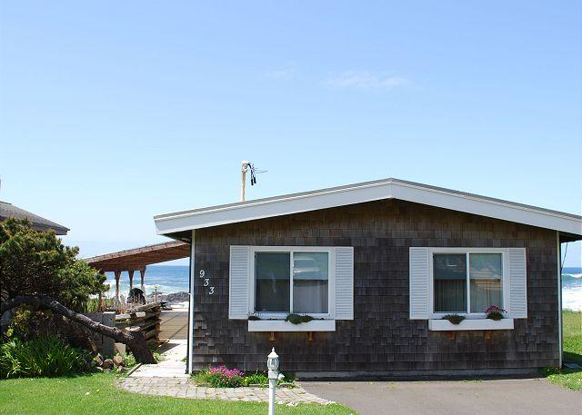 Seaside Cottage R--543 Yachats Oregon ocean front vacation rental - Image 1 - Yachats - rentals