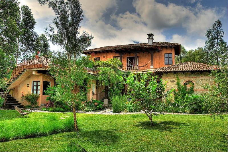 front of house - Spectacular Mountainside Villa Near Antigua - Ciudad Vieja - rentals
