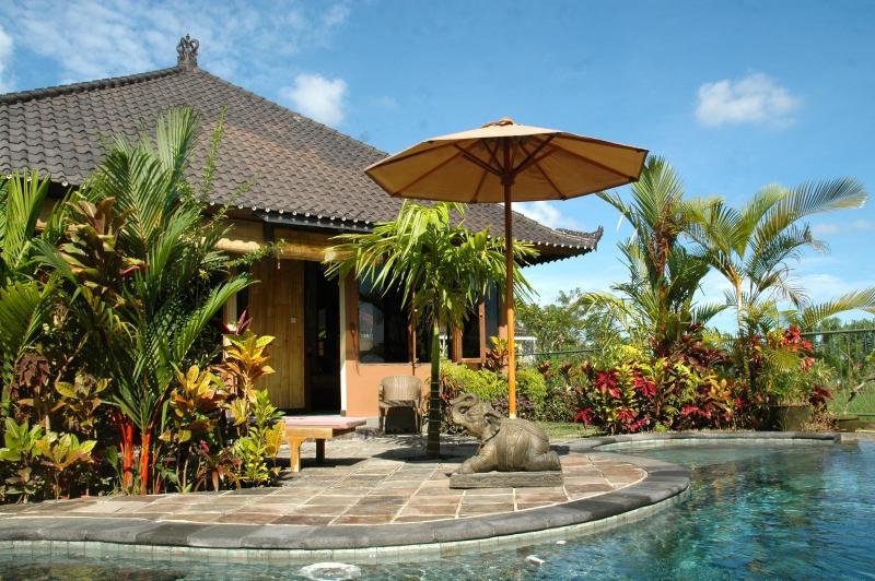 Bamboo Cottage - Bamboo Cottage Ubud (pool, wifi, ricefield view) - Ubud - rentals