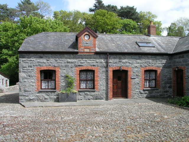 The front of LLwyn Bedw with the clock tower - Llwyn Bedw - Conwy Valley North Wales - Tyn-y-Groes - rentals