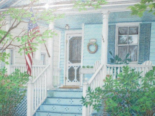 Front Porch Rendering - Maskell Ware House - Cape May - rentals