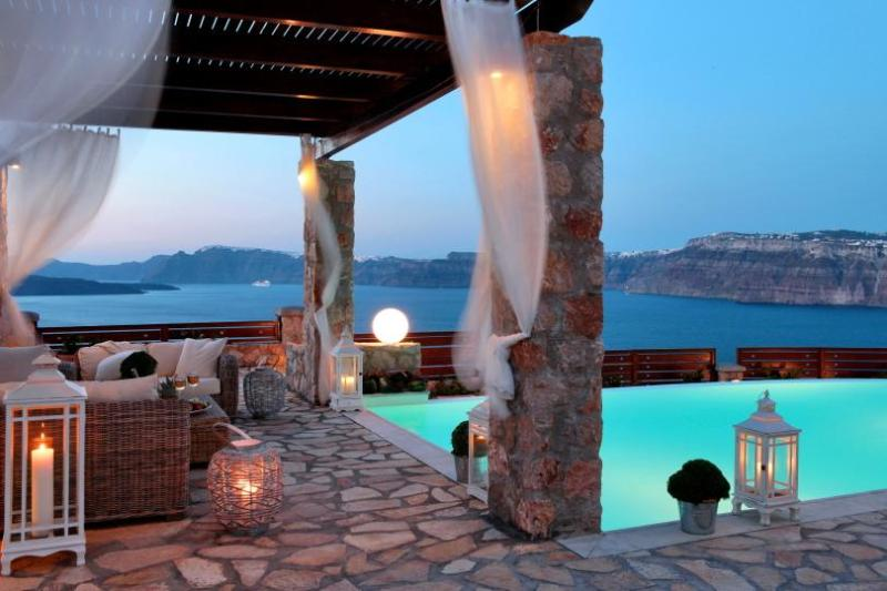 5 bedroom luxury villa with private pool - Image 1 - Akrotiri - rentals
