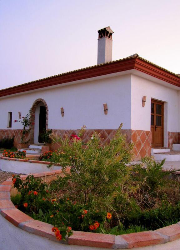 Front of House and garden - Sunny Villa Spain beautiful 4 bedroom Country Home - Guaro - rentals