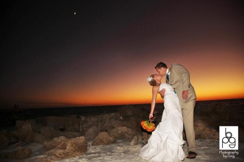 Beach Weddings on our private beach - Overlooking Beach - Siesta Key - rentals
