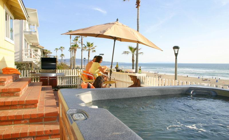 Large Oceanview Deck - Bright, Oceanfront House on 'The Strand' - Manhattan Beach - rentals