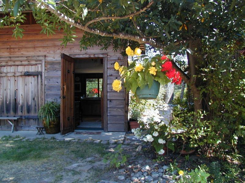 Cottage Front Door - Carmel Valley Cottage - Carmel Valley - rentals