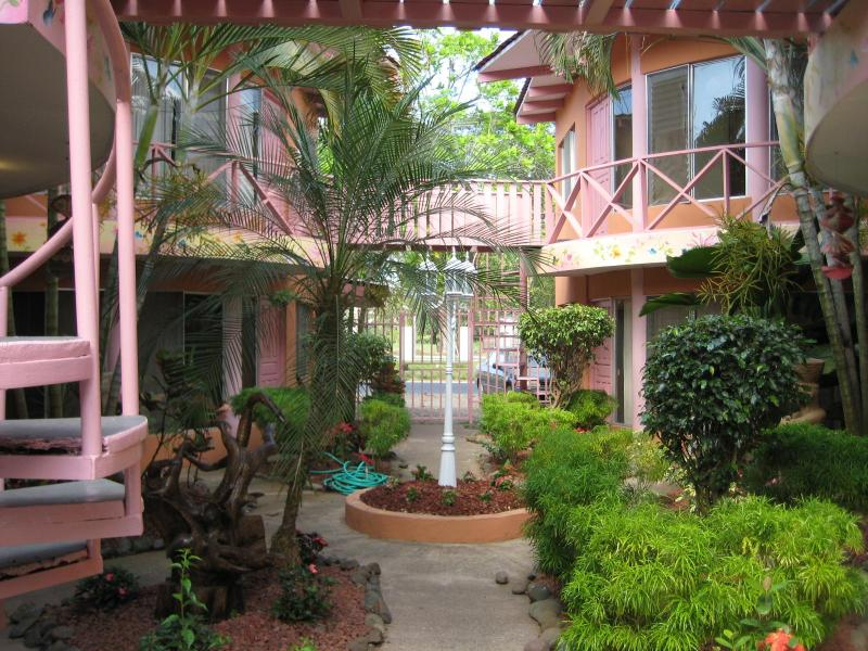 Entrance way to condo's from gate - JACO APARTMENTS - Jaco - rentals