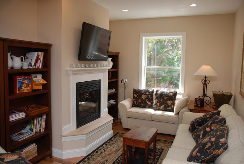 Living Room with Lots of Natural Light - DUPONT CIRCLE *As Close As You Can Get* DC's Best and Safest Neighborhood - Washington DC - rentals