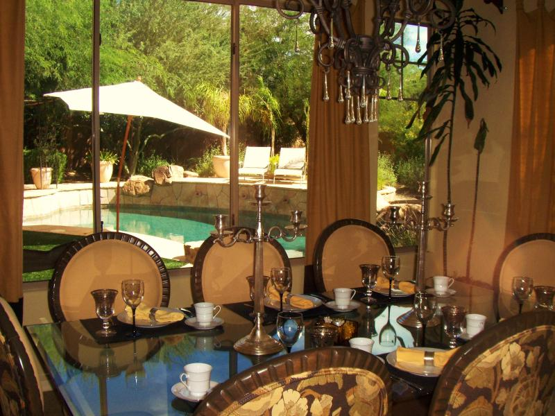 Dining Room for 8 - Luxury Model Home W/Heated Pool - Phoenix - rentals