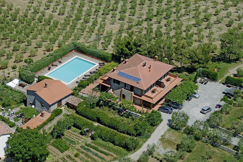 Casa Rondini - Casa Rondini , organic farm - Montegabbione - rentals