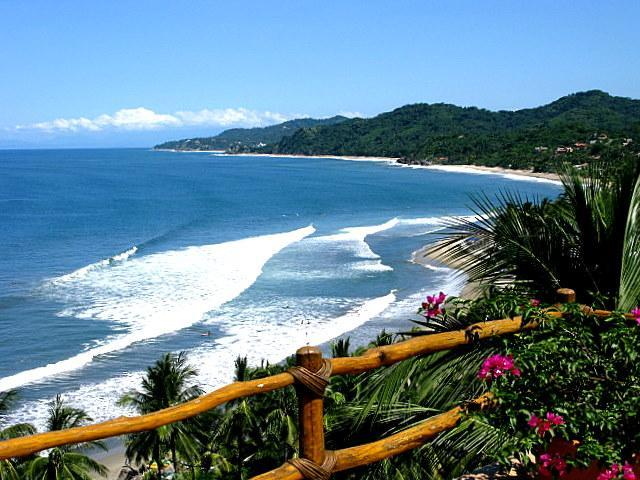 View from Casa Paloma - Casa Paloma | Oceanfront Paradise in Best Location - Sayulita - rentals