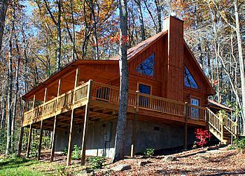 Woodlands Cabin #1 - Back In The Woods Privacy - The Woodlands Cabin - Bryson City - rentals