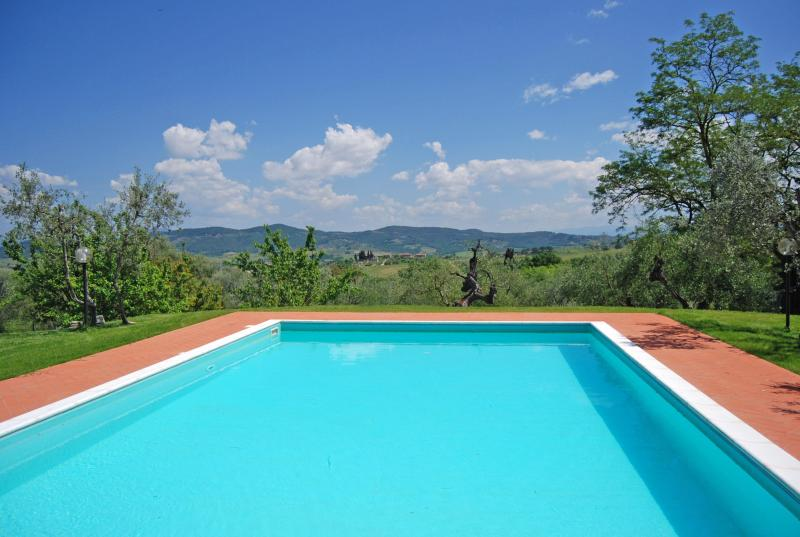 swimming pool - Villa I Leoni Between Florence Sienna and Pisa  - 1 km to village -  Aircond. - Montespertoli - rentals