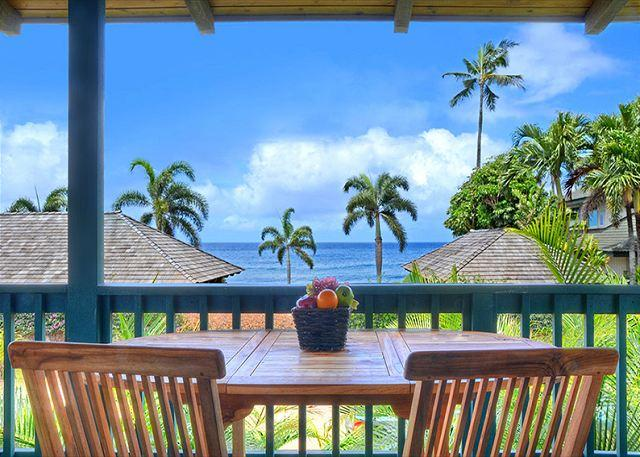 Hale Malanai ocean side lanai - Hale Malanai - 2 Bedroom Baby Beach Poipu Vacation Home - Koloa - rentals