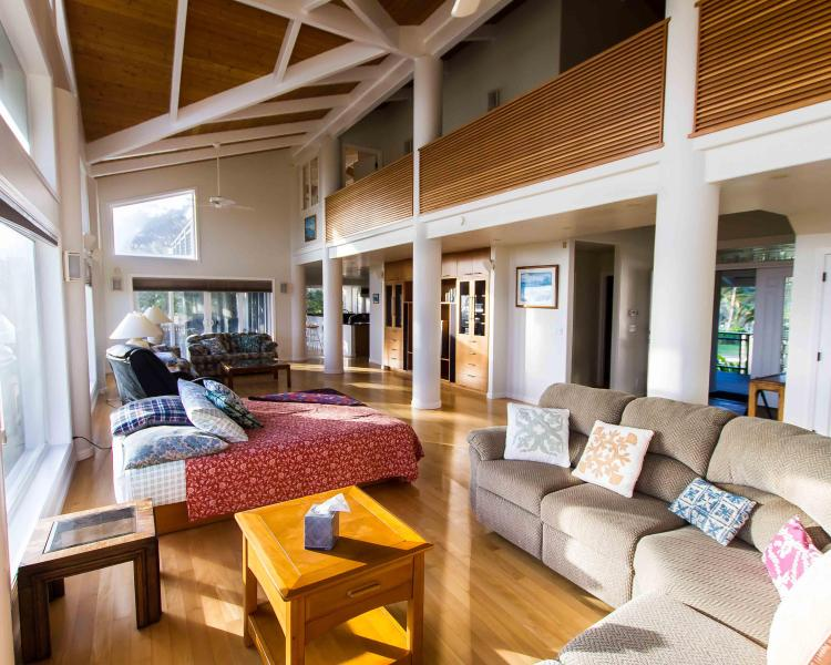 Cavernous Living Area - More Than a Beach House - Laie - rentals