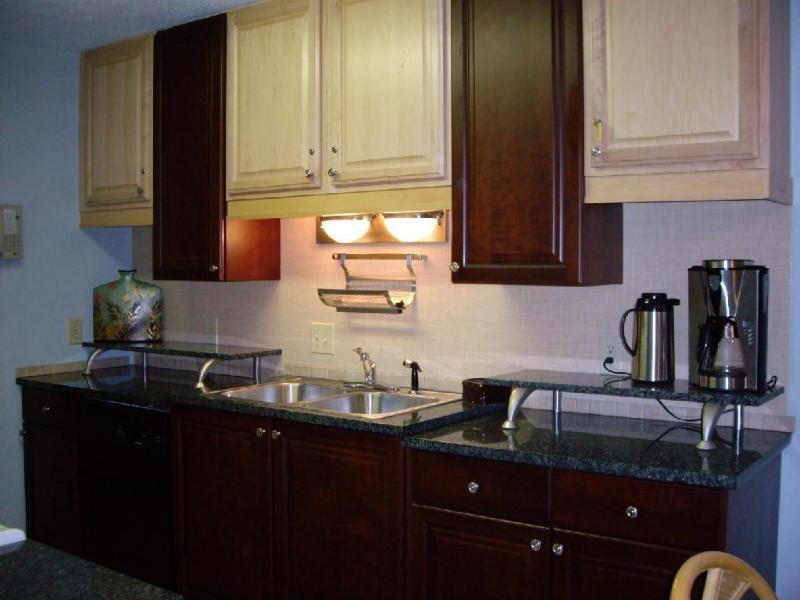 Design inspired kitchen with Granite! - Pet-Friendly, Well Appointed Condo with 4 Balconies and near Beach - Myrtle Beach - rentals