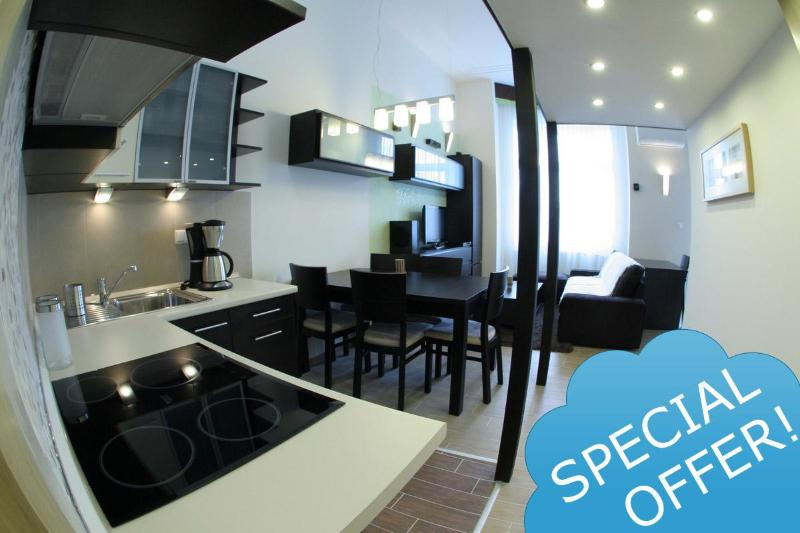 Exclusive Place,Balcony,A/C, FREE airport transfer - Image 1 - Budapest - rentals