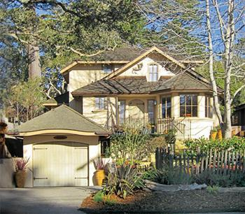DragonsFyre - just 3 short blocks to beach or town - DragonsFyre: Elegant Carmel-by-the-Sea Zen Rental - Carmel - rentals