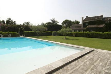 Oh, yes!  The pool has three different depths, designed for swimmers of all ages and abilities. - Le Domaine Provencal - 5 Bedroom Provence Farmhouse - Saint-Remy-de-Provence - rentals