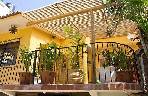 Main House patio - Casa Amuleto, Sayulita, Nayarit, Mexico - Sayulita - rentals