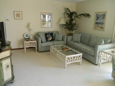 Living Room 3 - Water's Edge 103 North - Holmes Beach - rentals