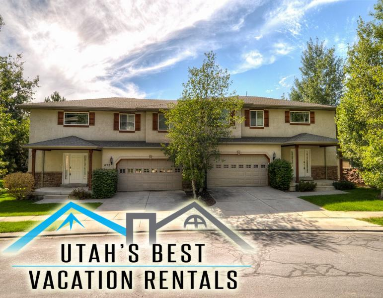 Sleep 22 in 2 separate homes (combined 6 bedrooms, 5 bathrooms, 2 hot tubs, 2 garages) - Sleep 21! 2 Sep Hms (Groups & Fams!)+Hot tubs+Park - Salt Lake City - rentals