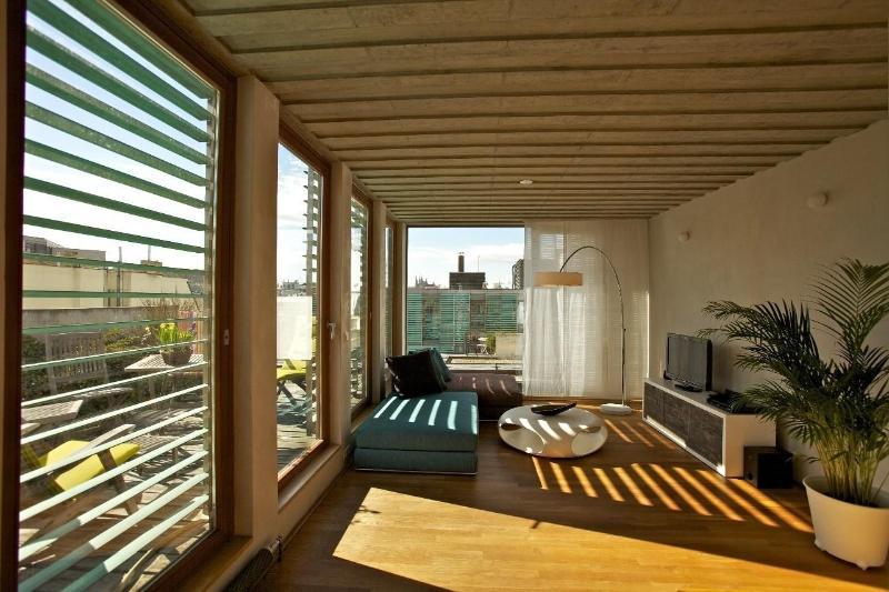 Bright Living Room - Metropolitan Duplex Apartment - Prague - rentals