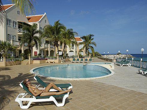 """3 bedroom oceanfront penthouse """"Port Bonaire"""" - Image 1 - Kralendijk - rentals"""