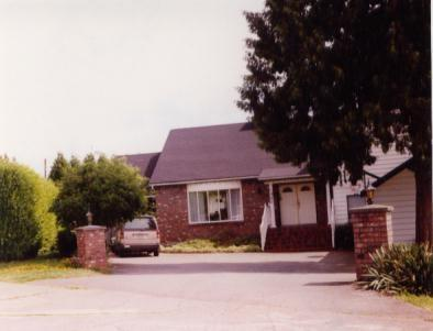 house viewed from the cul-de-sac - A Taste of Home Bed & Breakfast - Abbotsford - rentals