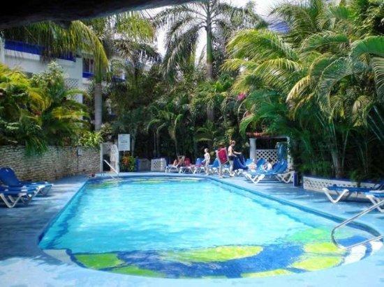 "Pool view - 2 bed - two bath ""NA301C"" - Image 1 - Playa del Carmen - rentals"