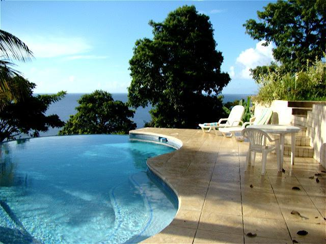 Infinity pool - Gloucester Place - Essex Cottage - Parlatuvier - rentals