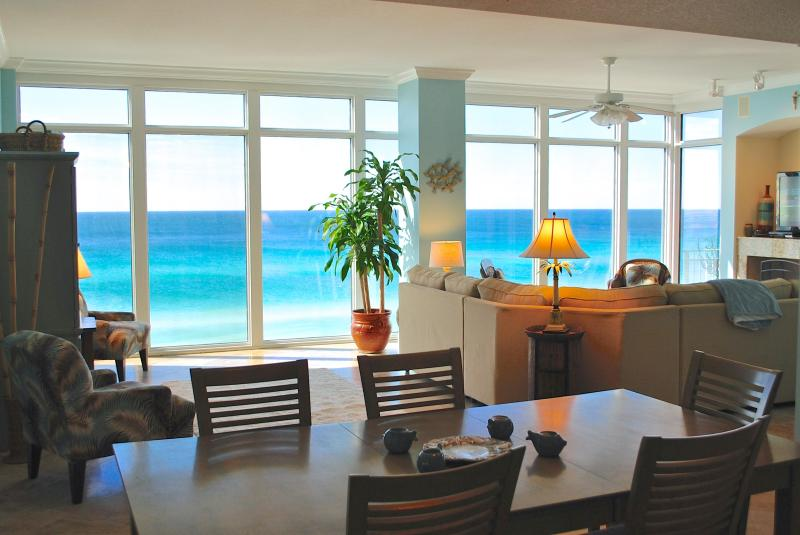 Perfect view of The Worlds Most Beautiful Beaches - 5 Star Award Winning 4 Bedroom Gulf Front Condo! - Panama City Beach - rentals