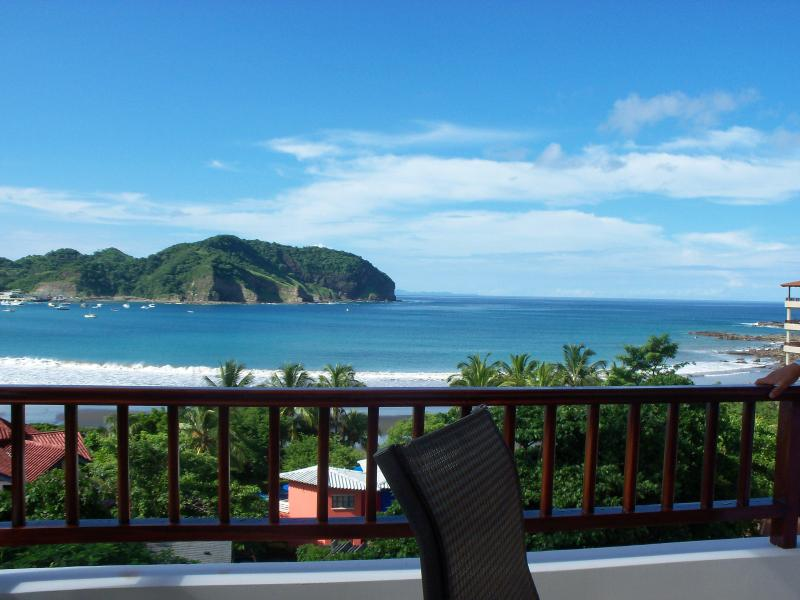 Another beautiful day - View from balcony - RIGHT ON THE BEACH - Luxury Condo 5th Floor Views - San Juan del Sur - rentals