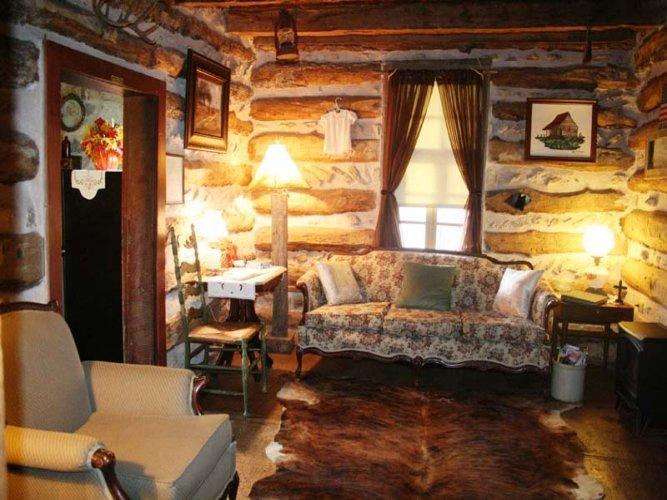 Clear Springs Log Cabin - Image 1 - Fredericksburg - rentals